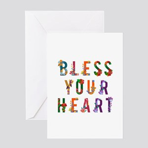Bless Your Heart Greeting Cards
