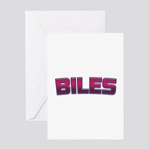 Biles Greeting Cards