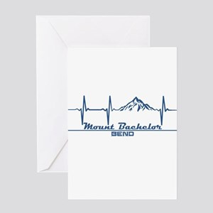 Mount Bachelor - Bend - Oregon Greeting Cards