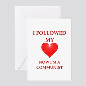 communist Greeting Cards