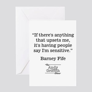 BARNEY FIFE QUOTE Greeting Card