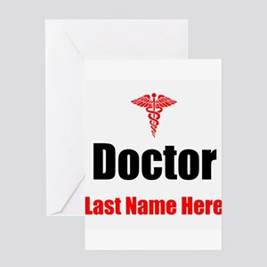 Doctor Greeting Cards