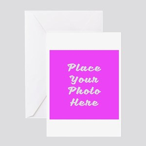 Photo template customized Greeting Card