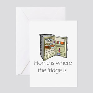 The Fridge Greeting Card