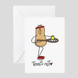 Tennis Nut Greeting Card