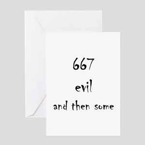 667 Greeting Card