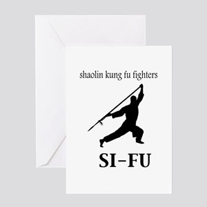 Sifu Greeting Card