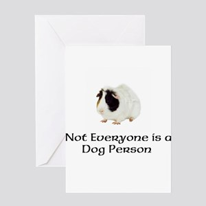 Not Everyone is a Dog Person Greeting Card
