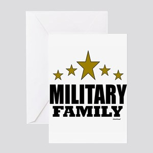 Military Family Greeting Card