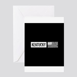 U.S. Flag: Kentucky Greeting Card