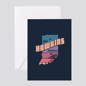 Visit Hawkins Indiana Greeting Cards