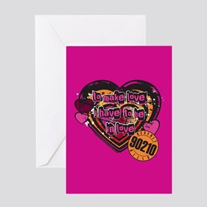 90210 Be in Love Greeting Card
