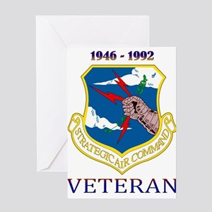 SAC Veteran! Greeting Card