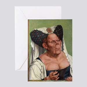 The Ugly Duchess - Quinten Massys - c 1520 Greetin
