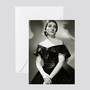 maria callas Greeting Cards