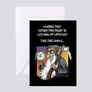 Father Time - Greeting Card