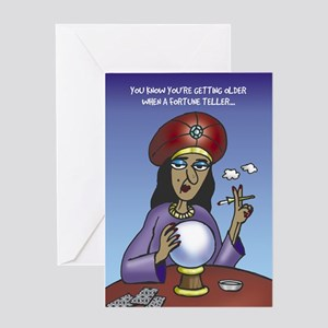 Fortune Teller - Greeting Card