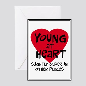 Young at heart Greeting Card
