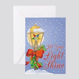 Let Your Light Shine OES Greeting Card
