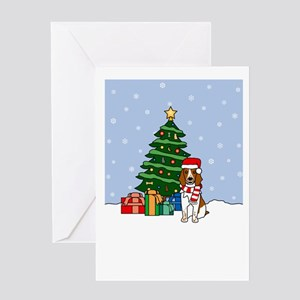 Welsh Springer Christmas Greeting Card