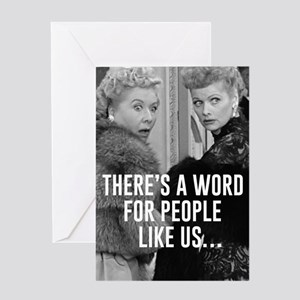 People like us... Friends Greeting Card