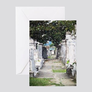 New Orleans Cemetary Greeting Cards