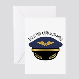 Your Captain Greeting Cards