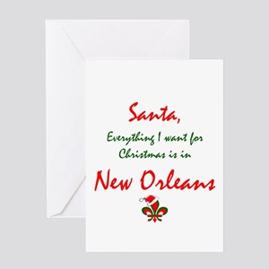New Orleans Christmas Greeting Cards