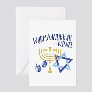 Hanukkah Wishes Greeting Cards