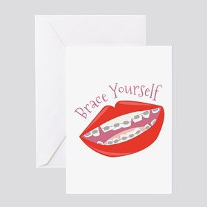 Brace Yourself Greeting Cards