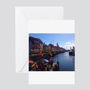 Canal Tour Time Greeting Cards