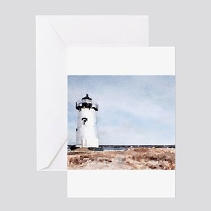 Edgartown Lighthouse Greeting Cards