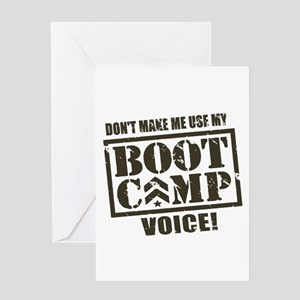 Bootcamp Voice Greeting Cards