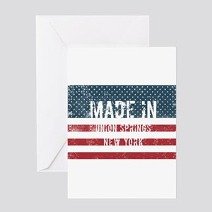 Made in Union Springs, New York Greeting Cards