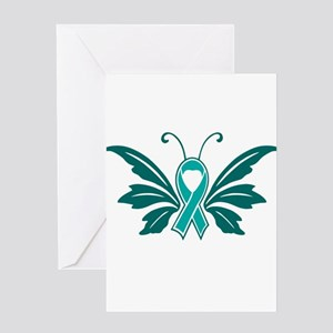 Sexual Assault Awareness Butterfly Ribbon Greeting