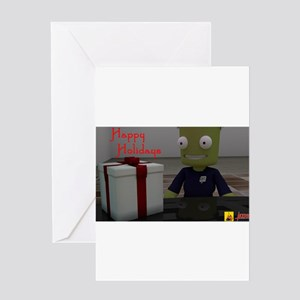 Kerbal Christmas Gift Greeting Cards