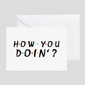 'How You Doin'?' Greeting Card