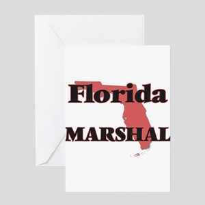 Florida Marshal Greeting Cards