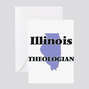 Illinois Theologian Greeting Cards