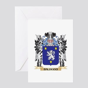 Balducci Coat of Arms - Family Cres Greeting Cards