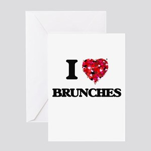 I Love Brunches Greeting Cards