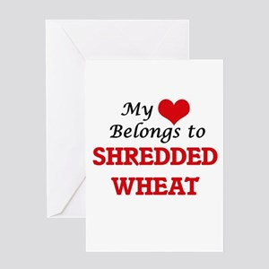 My Heart Belongs to Shredded Wheat Greeting Cards