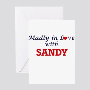 Madly in love with Sandy Greeting Cards