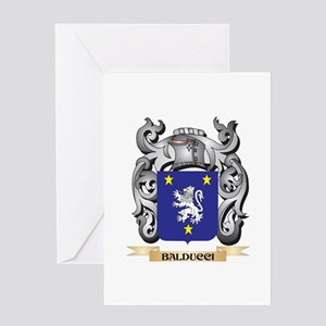 Balducci Family Crest - Balducci Co Greeting Cards