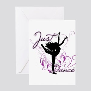 dance girl2 Greeting Card