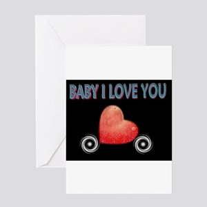 Jmcks Baby I love you Greeting Card
