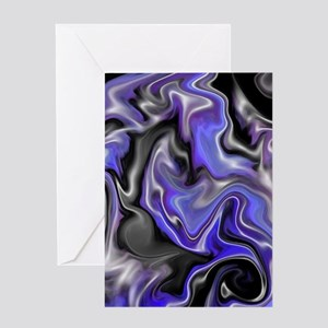 cool abstract art Greeting Card