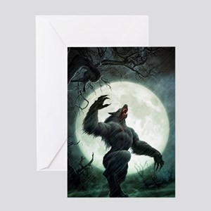 Howl-SmallPoster Greeting Card