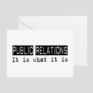 Public Relations Is Greeting Card