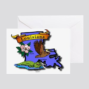 Louisiana Greeting Card